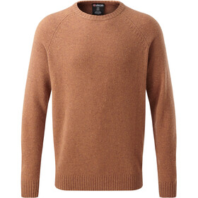 Sherpa Kangtega Crew Sweater Men masala orange